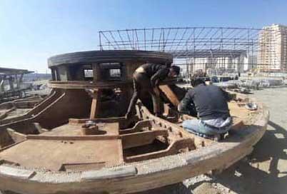 عملیات ساخت خط 10 مترو تهران