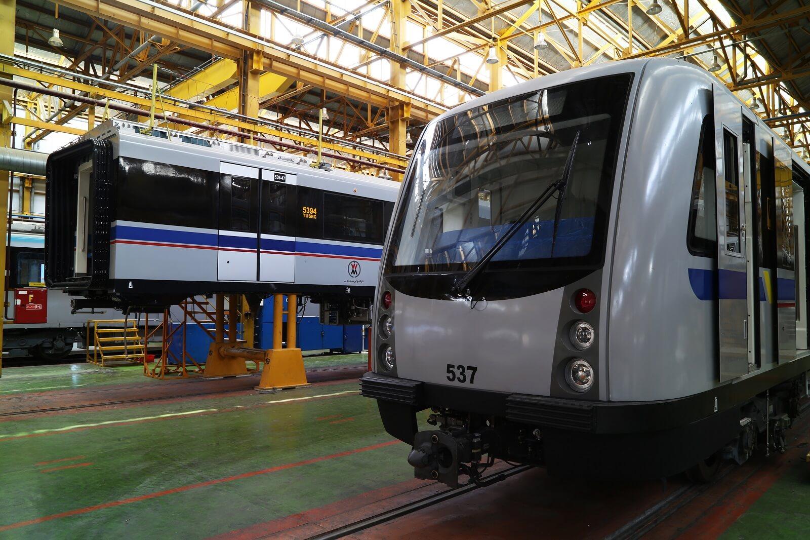 ساخت واگن مترو در بهرو