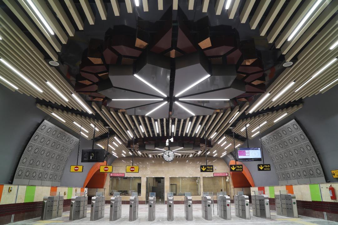 معماری ایستگاه شهرک آزمایش
