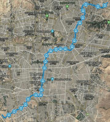 line3 of tehran metro
