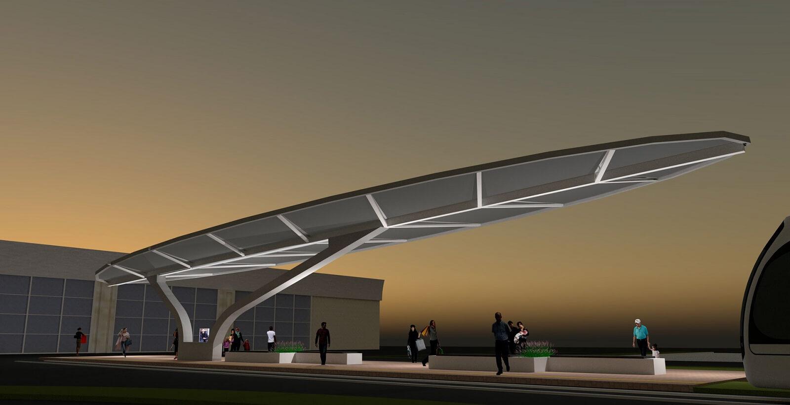 Shiraz airport tramway
